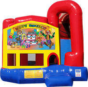 Happy Birthday 4N1 Inflatable Combo Fun Jump