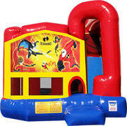 Incredibles 4N1 Inflatable Combo Fun Jump