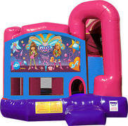 It's A Girl Thing 4N1 Bounce House Combo (Pink)