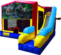 Jurassic World 7N1 Inflatable Combo Fun Jump