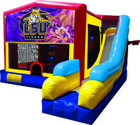 LSU Tigers 7N1 Inflatable Combo Fun Jump