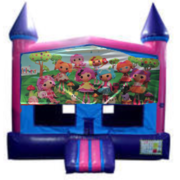 Lalaloopsy Fun Jump (Pink) with Basketball Goal