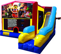 Legos 7N1 Inflatable Combo Fun Jump