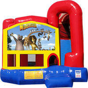 Madagascar 4N1 Inflatable Combo Fun Jump