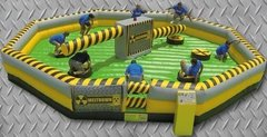 Toxic Meltdown Inflatable Ride