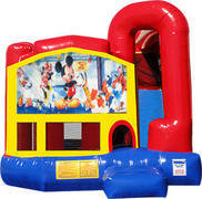 Mickey Mouse 4N1 Inflatable Combo Fun Jump