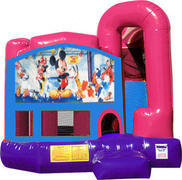 Mickey Mouse 4N1 Inflatable Combo Fun Jump (Pink)