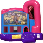 Minions 4N1 Bounce House Combo (Pink)