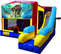 Moana 7N1 Inflatable Combo Fun Jump