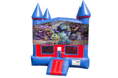 Monsters, Inc. Bounce House With Basketball Goal