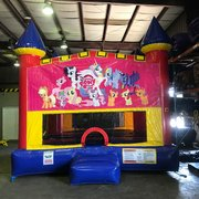 My Little Pony Bounce House With Basketball Goal