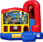 Ninja Turtles 4N1 Inflatable Combo Fun Jump
