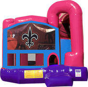 Nola 4N1 Inflatable Combo Fun Jump (Pink)