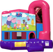 Peppa Pig 4N1 Bounce House Combo (Pink)