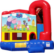 Peppa Pig 4N1 Inflatable Combo