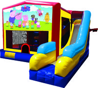 Peppa Pig 7N1 Bounce & Slide Combo