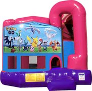 Pokemon 4N1 Bounce House Combo (Pink)