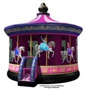 A Princess Carousel Bouncer