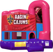 Ragin' Cajuns 4N1 Bounce House Combo (Pink)