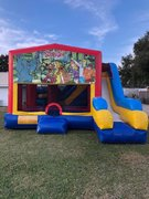 Scooby Doo 7N1 Inflatable Combo Fun Jump