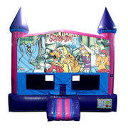 Scooby Doo Bounce House (Pink) with Basketball Goal