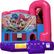 Shimmer and Shine 4N1 Bounce House Combo (Pink)