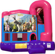 Shrek 4N1 Inflatable Combo Fun Jump (Pink)