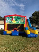 Snow White 7N1 Inflatable Combo Fun Jump