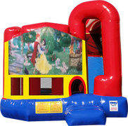 Snow White 4n1 Inflatable Combo Fun Jump