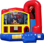 Spiderman 4N1 Inflatable Combo Fun Jump