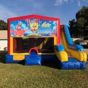 Spongebob 7N1 Inflatable Combo Fun Jump