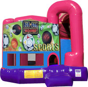 Sports USA 4N1 Bounce House Combo (Pink)