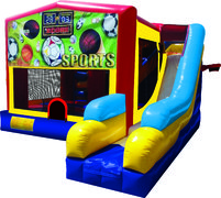 Sports USA 7N1 Inflatable Combo Fun Jump