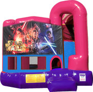 Star Wars 4N1 Bounce House Combo (Pink)
