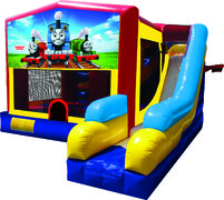 Thomas The Train 7N1 Inflatable Combo Fun Jump