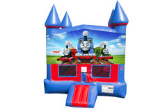 Thomas the Train Bounce House with Basketball Goal