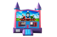 Thomas The Train Fun Jump With Basketball Goal (Pink)