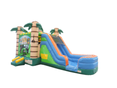 A Tiki Combo Water Slide