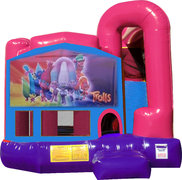 Trolls 4N1 Bounce House Combo (Pink)