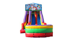 Unicorn 18' Double Lane Dry Slide