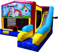 Unicorn 7N1 Inflatable Combo Fun Jump