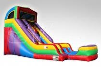 Black Panther 18' Double Lane Water Slide