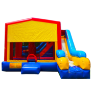 Atlanta Braves 7N1 Inflatable Combo Fun Jump