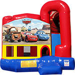 Cars 4N1 Inflatable Combo Fun Jump