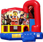 Legos 4N1 Inflatable Combo Fun Jump