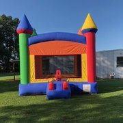 A Castle Inflatable Fun Jump