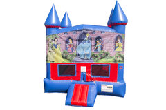 Disney Princess Bounce House with Basketball Goal