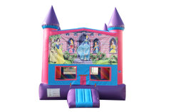 Disney Princess Fun Jump (Pink) with Basketball Goal