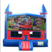 Doc McStuffins Bounce House with Basketball Goal