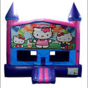 Hello Kitty Fun Jump (Pink) with Basketball Goal